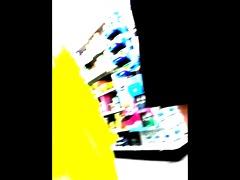 upskirt older shopping 6