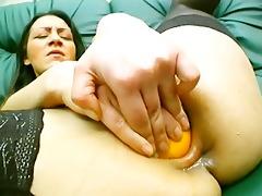 lighting up her vagina