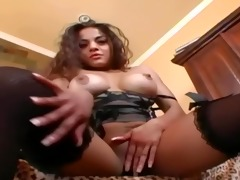 breasty d like to fuck in nylons a brassiere and