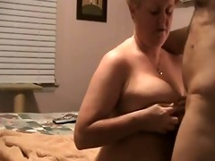 wanking-off on her #23 (granny gilf cumshot on