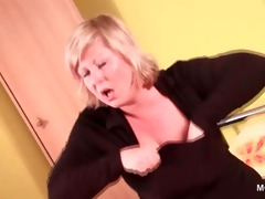 big beautiful woman older tramp stripping and