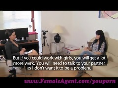 femaleagent. a spark of lesbo wish