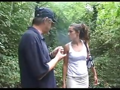 old lad sucked by a mother i in a forest