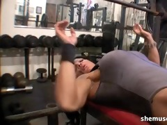 rhonda lee quaresma - older muscle