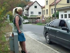 granny slut is picked up and screwed