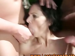 wam granny voided urine on while engulfing
