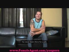femaleagent. talented pounder