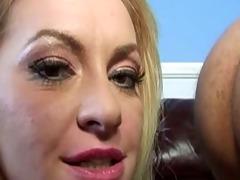 large tit gazoo eating golden-haired mother i
