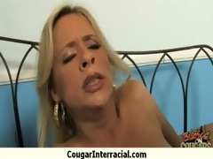 cougar with large love melons seduces juvenile
