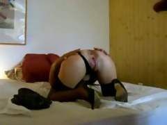 non-professional wife get the penis in the anal