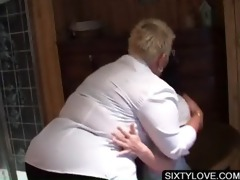 aged lesbo receives large marangos licked