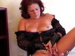 bawdy older housewife dana in solo
