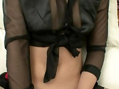 skinny wife receives masturbated on from beauties