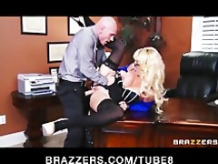 busty blond mother i suggests her intern a job if