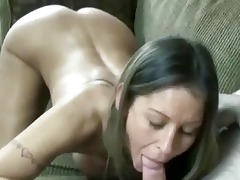 tiny and breasty wife leeanna swallows a ramrod