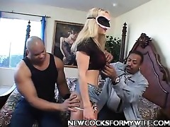 darksome rod plugged golden-haired wife