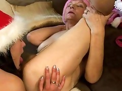 drunk granny enjoys sex with nice-looking legal