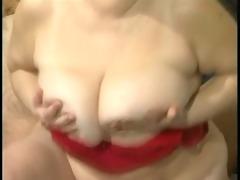 large tit granny mathilda acquires her furry