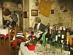 elegant italian aged cheating spouse on