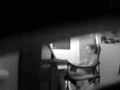 hidden webcam caught mom masturbating at her desk