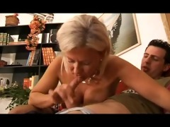 hot blond italian mother