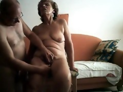 sexually slutty granny receives her smutty cleft