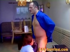 chubby aged giving good oral