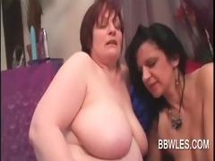 lesbian aged big beautiful woman engulfing nipps