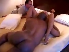 wife works darksome pole, cuckold