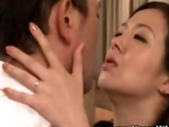 mature oriental d like to fuck giving a kiss with