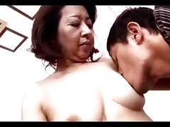 older woman getting her teats sucked muff rubbed