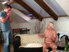 old bag acquires gangbanged by son in law