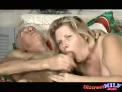 mature pair have perverted sex at home