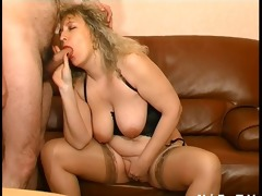 bbw french aged sodomized