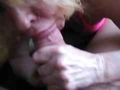 priceless granny engulfing weenie