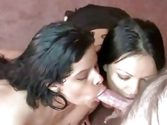 latin chick gal swapping a ramrod with older