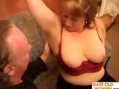 chubby grandmother goes wild