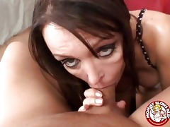 lewd brunette hair d like to fuck with monster