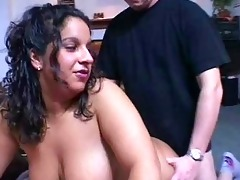 corpulent and breasty non-professional milf act