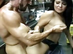 hawt darksome haired d like to fuck acquires her