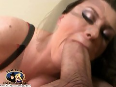 breasty sara receives plowed by the zilla express!