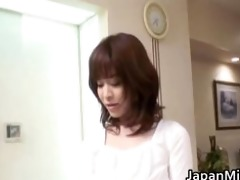 glamorous japanese chick with three-some part7