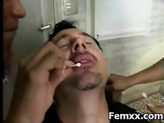 outstanding youthful hottie femdom porn and dom