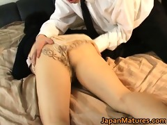 japanese aged sweetheart has sexy sex