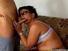 wicked old mamma receives drilled hard !