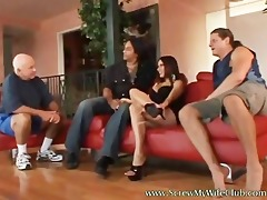 breasty hawt wife drilled hard by a pornstar and