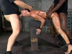 d like to fuck handcuffed down and drilled raw by