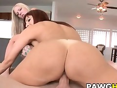 large butt milfs acquire gangbanged