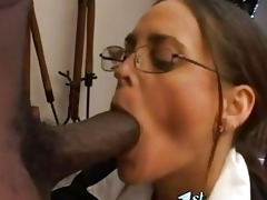 hawt matured cheyenne hunter thumps a monster