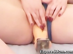 mommy plays with giant pump part2
